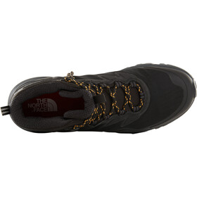 The North Face Ultra Fastpack III Mid GTX Chaussures Homme, tnf black/amber